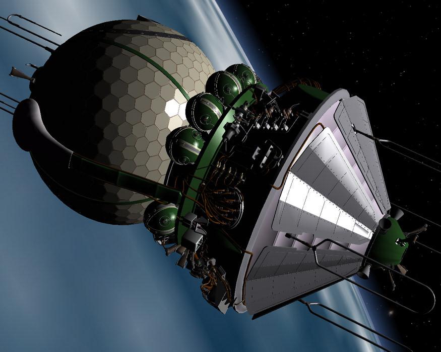 vostok spacecraft - photo #7