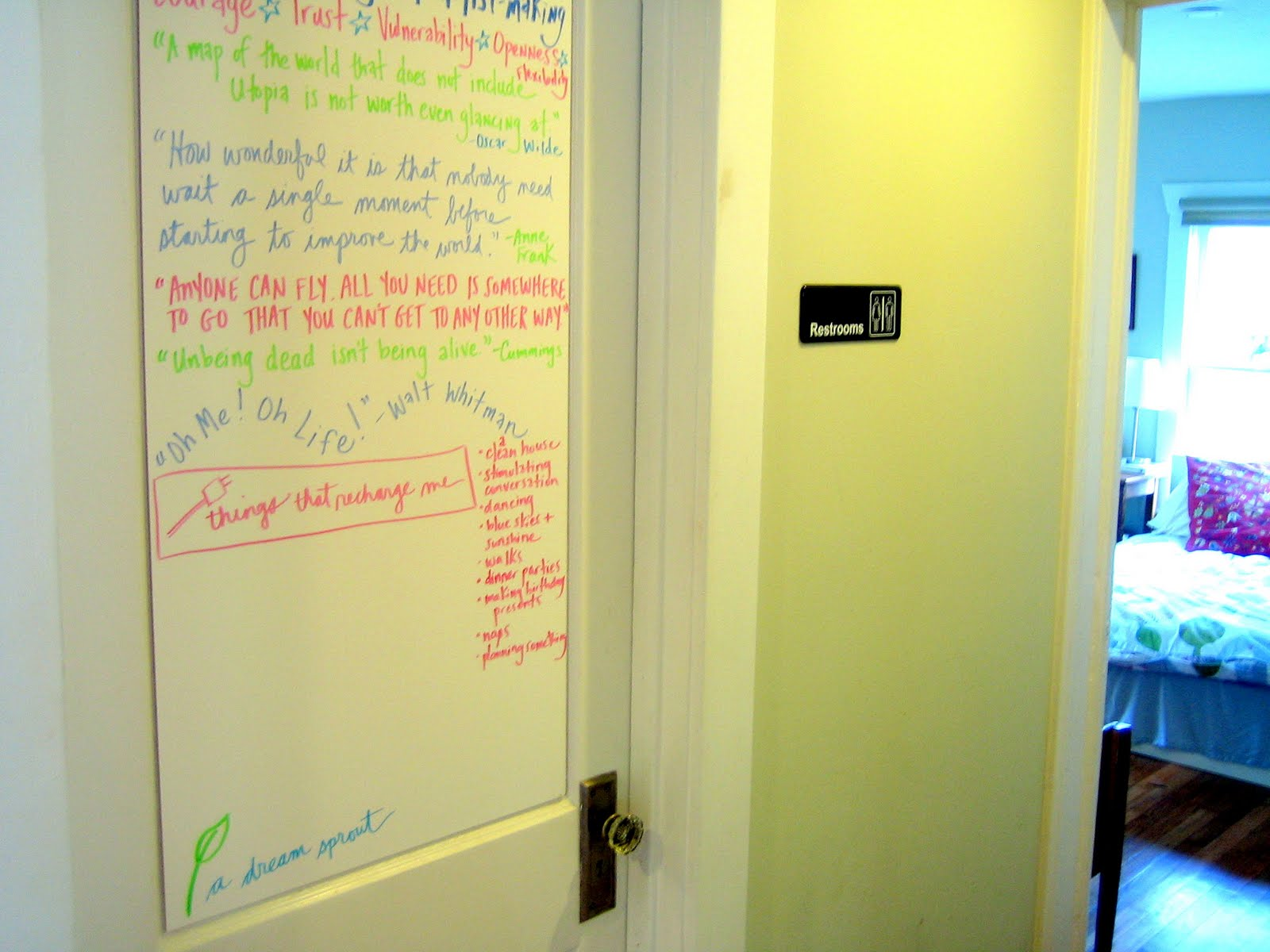 I Ve Been Craving A Whiteboard In My House Ever Since Was First Year Teacher Rural Louisiana There An Experienced Few Towns Over