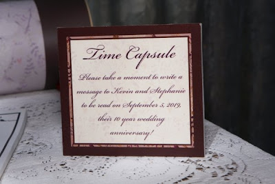 2000 Dollar Budget Wedding: Guest Post: Wedding Time Capsule