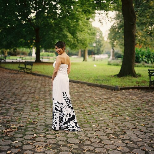 2000 Dollar Budget Wedding Diy Dress Applique