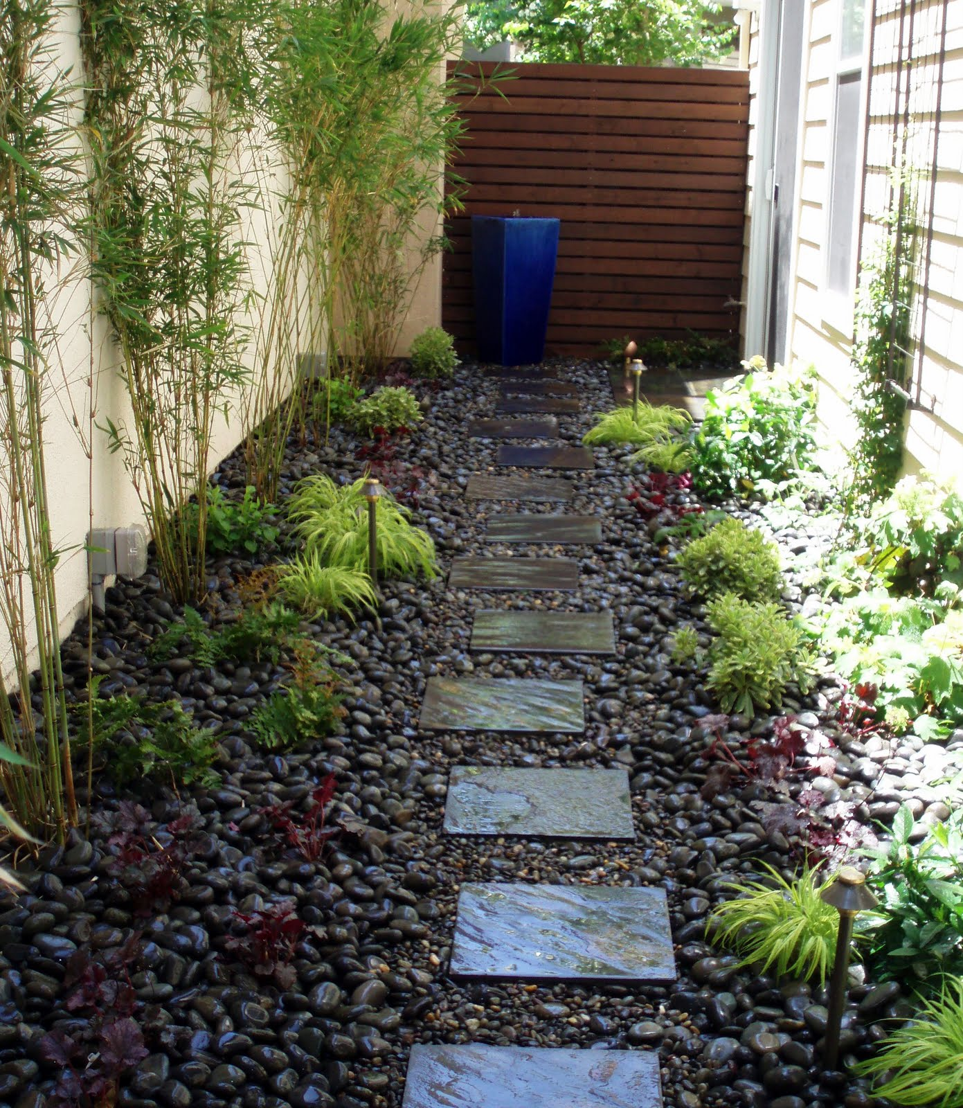 Side And Backyard Idea: InterLeafings: Garden Designers Roundtable: Points Of Focus