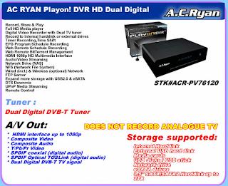 AC RYAN ACR-PV72100TV MEDIA PLAYER WINDOWS 10 DRIVER