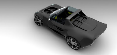 Steel Black Cat - The Ultimate Sports Car !!!