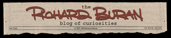 The Richard Buran Blog of Curiosities