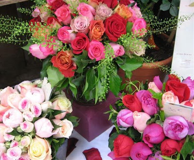 Next trip I'm skipping dinner and buying these roses...