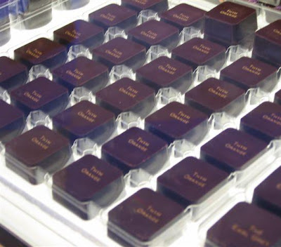 Pierre Marcolini Earl Grey chocolates, Paris