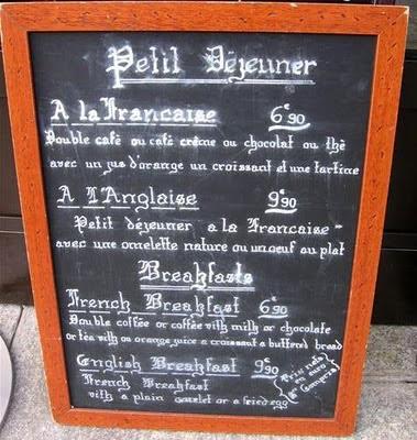 paris breakfasts Yr Petit Dejeuner in Paris