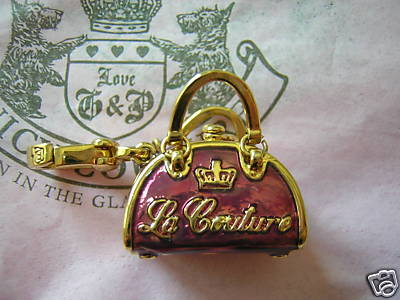 Juicy Couture Handbag Charm