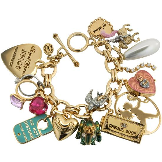 Juicy Couture Themed Bracelet