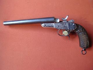 Coleccion de revolveres antiguos