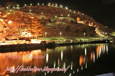 اماكن سياحية مشهد