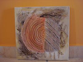 Abstrato laranja...