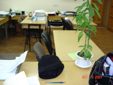 "Kate's Desk at the National Technical University ""Kharkiv Polytechnic Institute."""