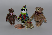 Microminiature Beaded Bears