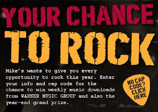 mike's Hard Punch Rocks Sweepstakes
