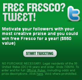 Taco Bell Frescolution Twitter Promotion
