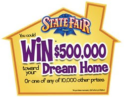 State Fair Dream Home Instant Win Game Sweepstakes