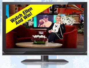 Ellen Watch & Win Weekly Giveaway