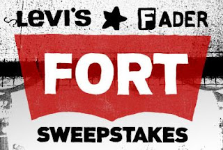 Levis Fader Fort Instant Win Sweepstakes