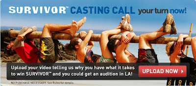 CBS Survivor Casting Call Contest