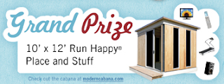 instant win game, runhappyplace, win a cabana