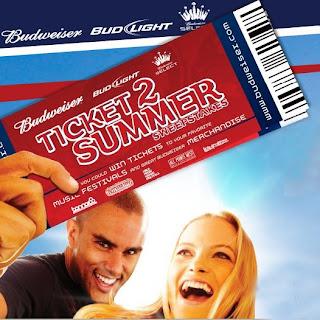 Budweiser Ticket 2 Summer Sweepstakes