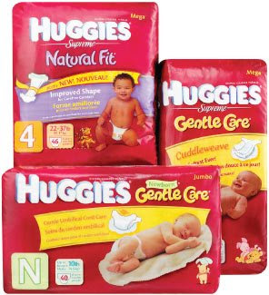Codes for the Huggies Daily Diaper Giveaways Sweepstakes