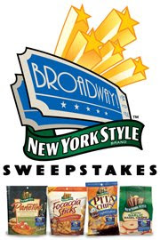 Broadway New York Style Premium Baked Snacks Instant Win Game