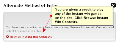 2009 My Coke Rewards Instant Win Game Rules and Instructions