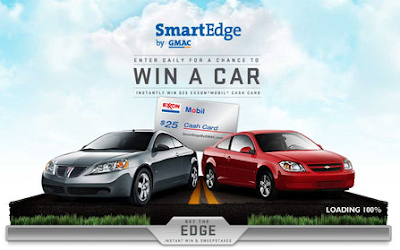 GMAC Get the Edge Instant Win Game and Sweepstakes