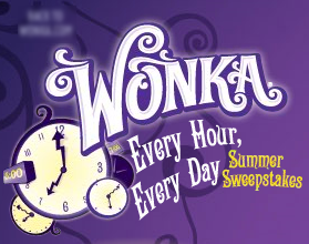 Wonka Every Hour Every Day Summer Sweepstakes Winners and Prizes