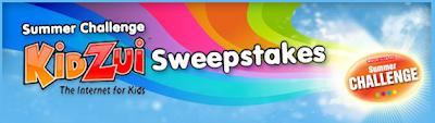 Scholastic Summer Challenge Kidzui Sweepstakes