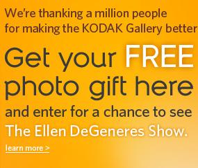 Kodak Million Thanks Giveaway