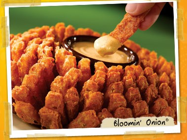 Outback Bloomin' Onion Facebook Giveaway