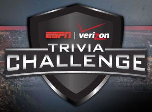 Verizon ESPN Trivia Challenge and Instant Win Game