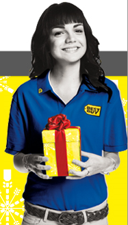 Best Buy Text for the Holidaze Sweepstakes
