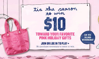 Victoria Secret Pink Nation Holiday Jackpot Sweepstakes