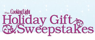 Cooking Light Holiday Gift Sweepstakes