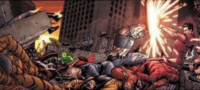 Civil War, um arco de histórias em quadrinhos da Marvel Comics