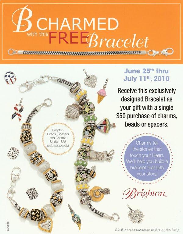 brighton jewelry coupon code