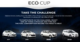Peugeot Eco Cup screengrab