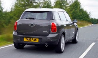 Mini Countryman rear end