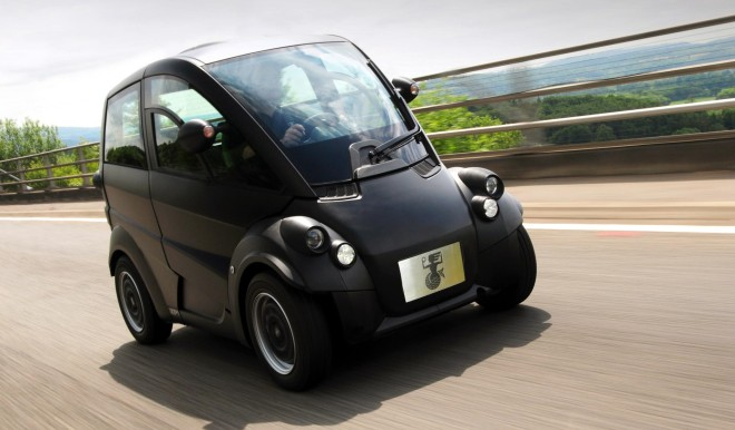 Gordon Murray T25 on the road
