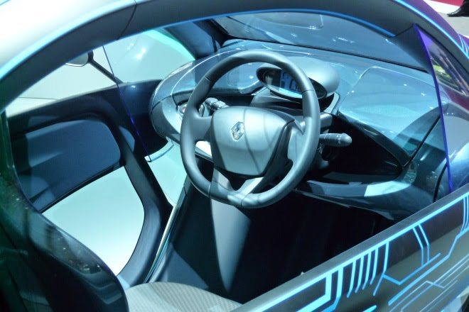Renault Twizy production interior