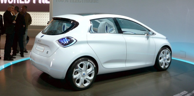 Renault Zoe Preview rear