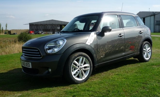 Muddy Mini Countryman Cooper D All4