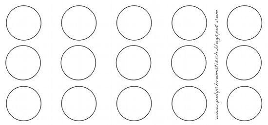 Kreis Vorlage Zum Ausdrucken