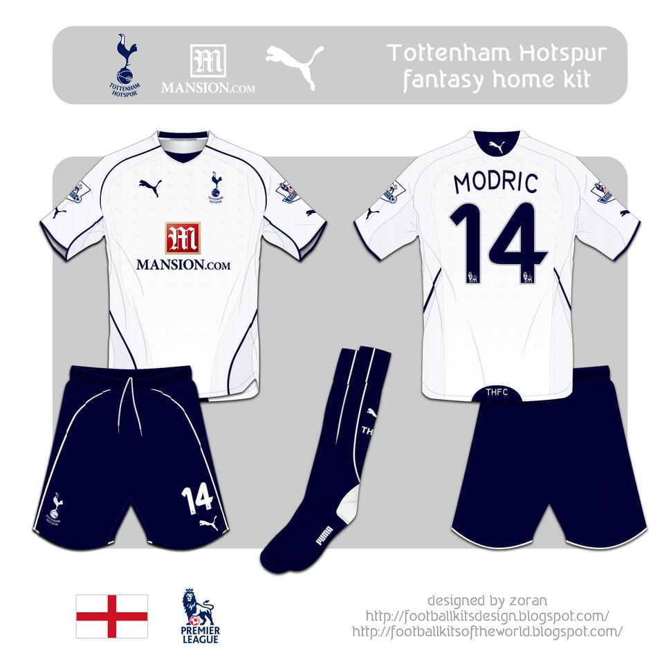 Tottenham Vs Ajax Home Or Away: Football Kits Design: Tottenham Hotspur F.C. Fantasy Kits