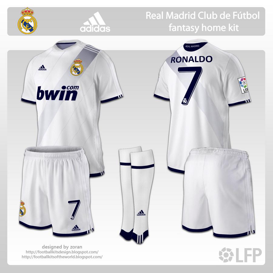 timeless design d06b0 ea194 football kits design: Real Madrid fantasy kits
