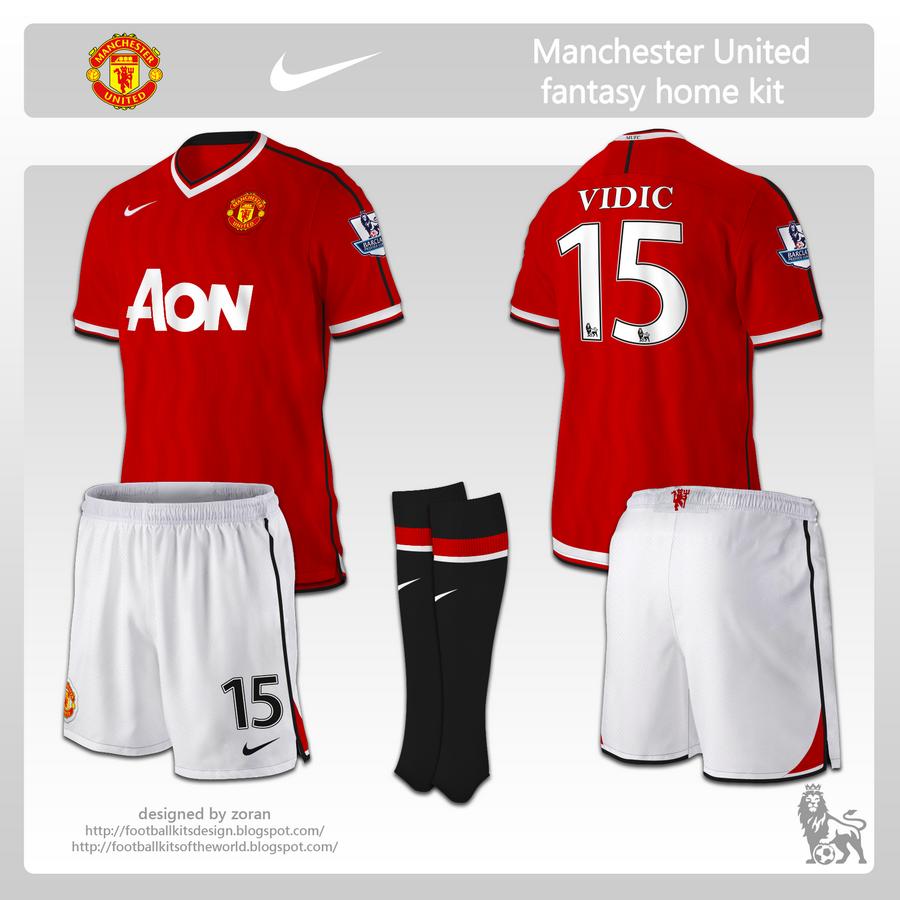 coz i like football: Manchester United fantasy kits